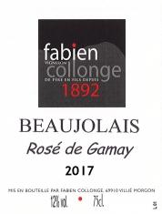 Beaujolais Rosé Rosé de Gamay